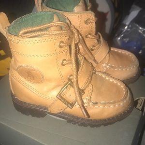 Caramel polo boots tall sz 6 great buy